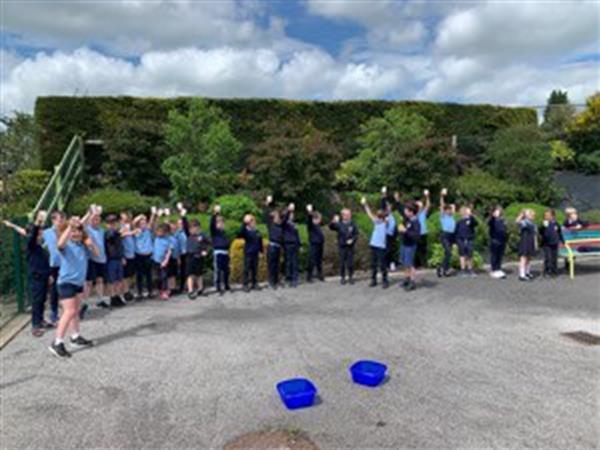 Green schools water run
