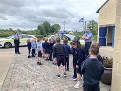 Garda visit Junior Infants